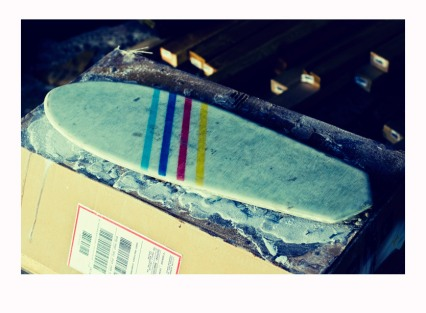 Sco Skateboard Bottom Lamination