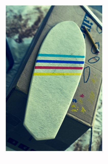 Sco Skateboard Coloured Deck