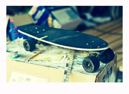 Sco Skateboard Finished