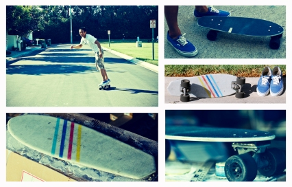 Sco Skateboard Collage