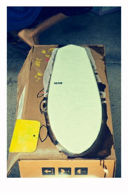Sco Skateboard Lamination